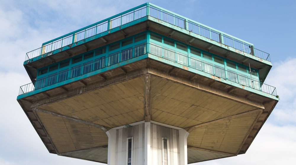 observation tower architecture pennine tower england brutalist